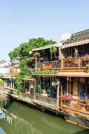 historical buildings: June 302016, China:Zhujiajiao ancient town of historical buildings Shanghai