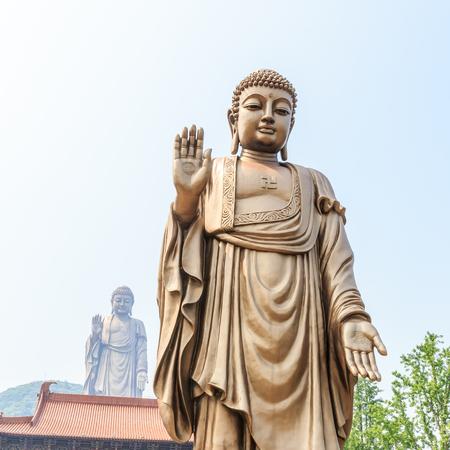 grand buddha: Wuxi Grand Buddha at Lingshan in China