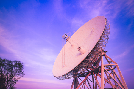 Radio telescopes for astronomical observations in China Stock Photo