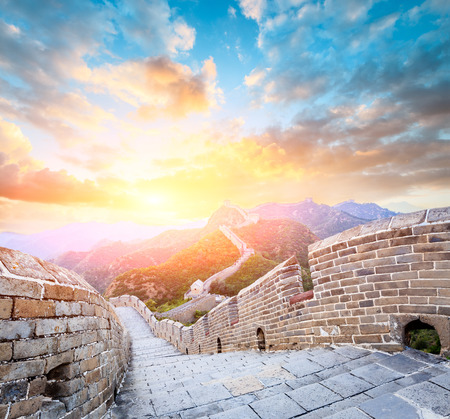 Great Wall in Beijing, China