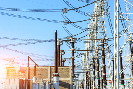 isolator: High Voltage Substation and Equipment