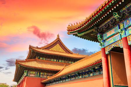 베이징, 중국에있는 금지 된 도시