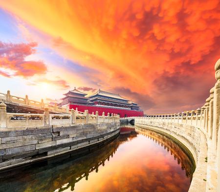 Forbidden city in Beijing, China