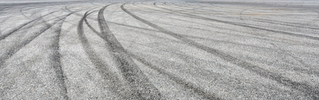 Car track asphalt pavement background at the circuit Standard-Bild