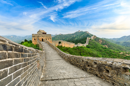 The Great Wall of China at Jinshanling Imagens - 121999416