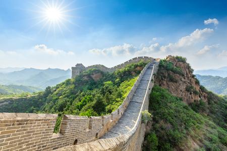 The Great Wall of China at Jinshanling Imagens - 121999425