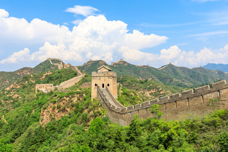The Great Wall of China at Jinshanling Imagens - 121999521