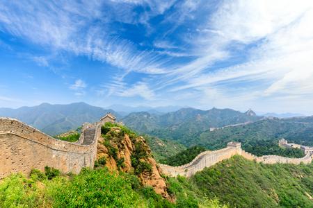 The Great Wall of China at Jinshanling Stock fotó - 121999520