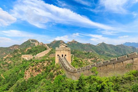 The Great Wall of China at Jinshanling Imagens - 121999525