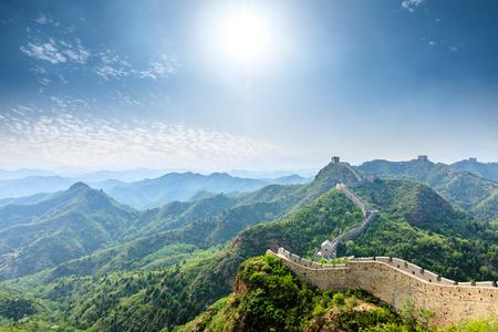 La Gran Muralla China en Jinshanling