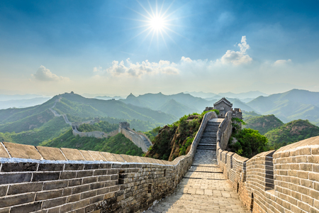 The Great Wall of China at Jinshanling Imagens - 122474726