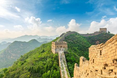 The Great Wall of China at Jinshanling Imagens - 122475500