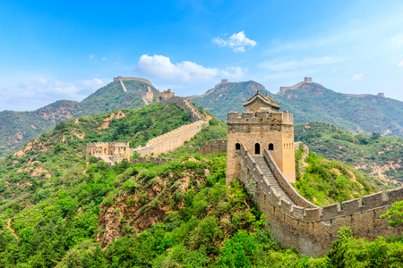 The Great Wall of China at Jinshanling Imagens - 122475516