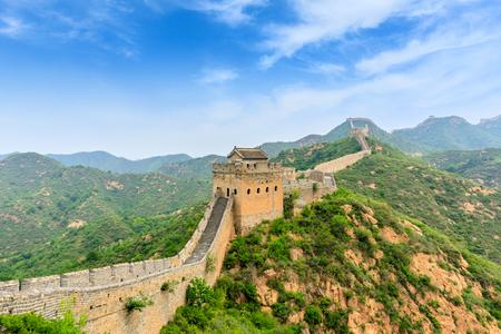 The Great Wall of China at Jinshanling Imagens - 122475669