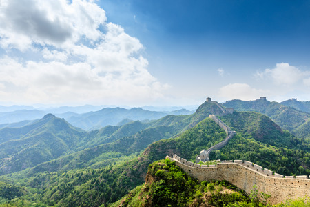 The Great Wall of China at Jinshanling Stock fotó - 122581520