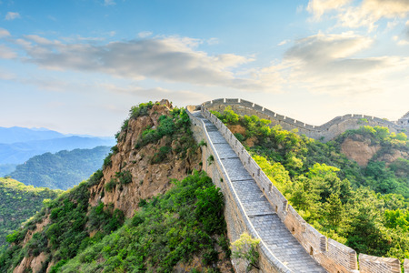 The Great Wall of China at Jinshanling Imagens - 122581549