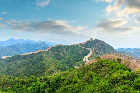 The Great Wall of China at Jinshanling Stock fotó - 122581637
