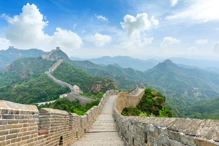 The Great Wall of China at Jinshanling Imagens - 122581706