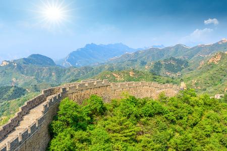 The Great Wall of China at Jinshanling Stock fotó - 122581723