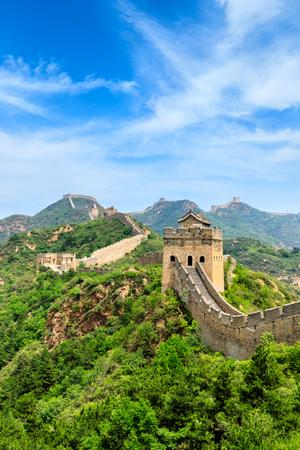 The Great Wall of China at Jinshanling Imagens - 122581828