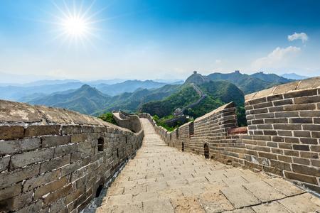 The Great Wall of China at Jinshanling Imagens - 122581993