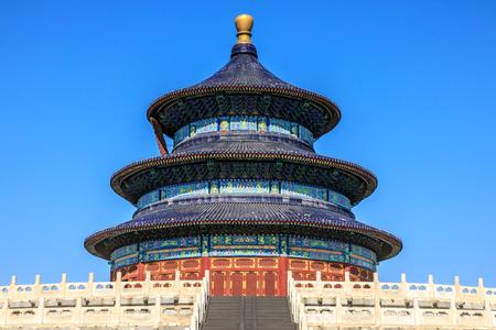 Templo del cielo de beijing, china.