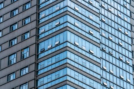 Prosperous office buildings in chongqing