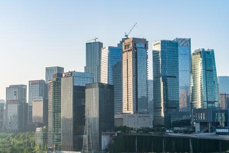 urban city buildings scenery