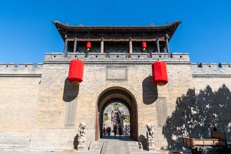 Wang jia courtyard, Shanxi Province, China Editöryel