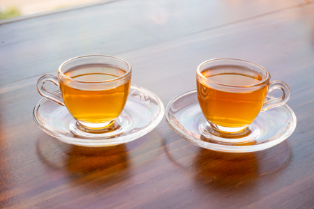 A cup of scented tea brewed