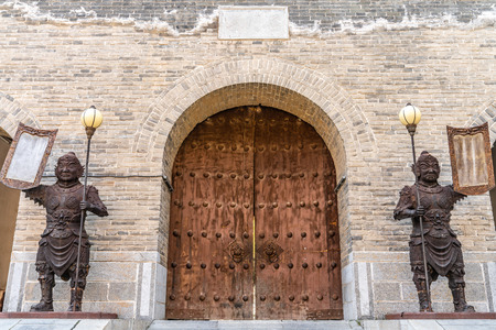 The gate of ancient China