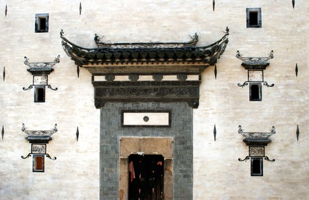 heritage protection: house Qiankou HuangShan China
