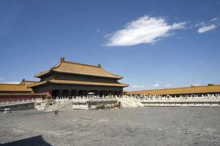 Beijing Forbidden city photo
