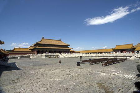 Beijing Forbidden city photo