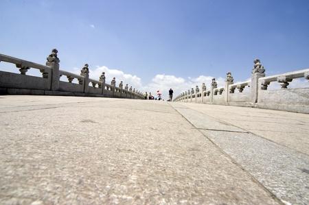 17: Palacio de verano de Beijing, 17 puente Foto de archivo