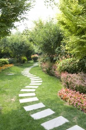 Park Stone walkway