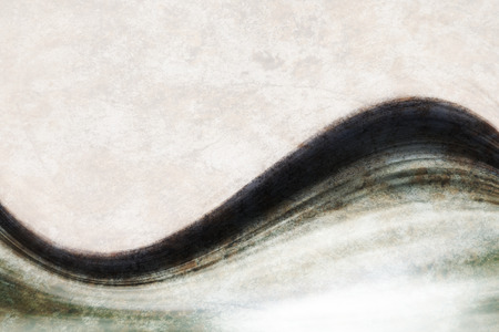 beautiful abstract background of delicate art waves photo