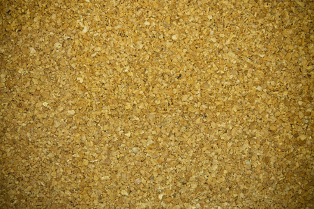 Close Up Texture Color Detail of Surface Cork Board