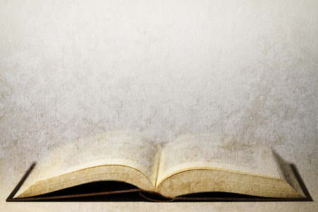 old book with aged effect texture photo