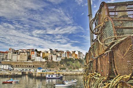 Fishing net detail, background photo