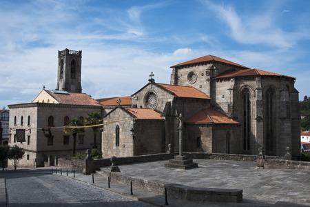 galicia: Medieval church of Saint Peter in Betanzos, Galicia, Spain.