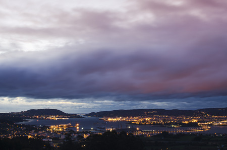 chinese alphabet: It gets dark on Ferrol