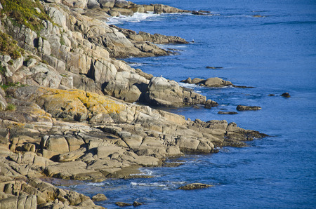 northern spain: Coastal landscape in northern Spain
