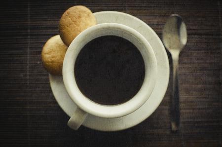 definite: A cup of black coffee