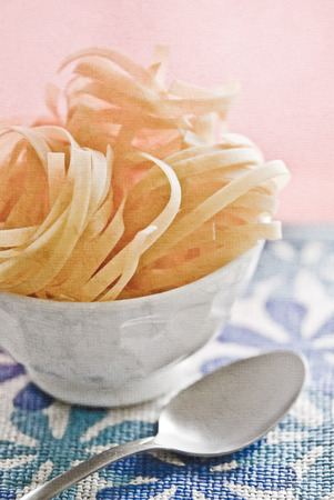 ribbon pasta: Fresh handmade ribbon pasta