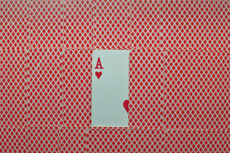 ace of hearts: Ace of Hearts looms between cards