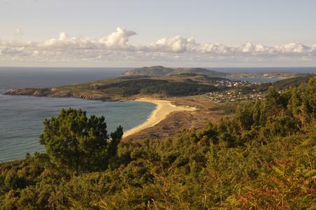 os: Sunset on the coast. Doni�os- Ferrol (Spain) Stock Photo