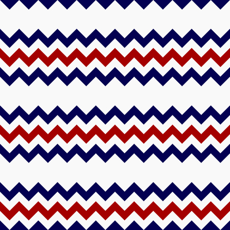 zag: Abstract red blue gray zig zag seamless background