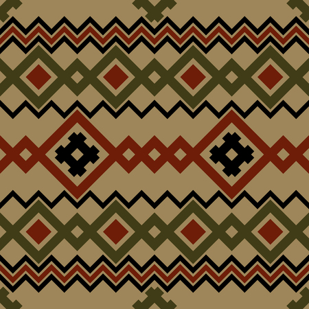 knit: Embroidery or knit russian and ukrainian national seamless pattern.