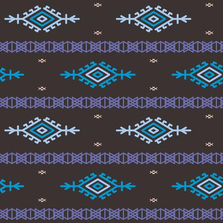 scandinavian: Russian, ukrainian and scandinavian national knit styled pattern, pastel colors. Illustration